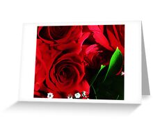 Just Never Get Tired Of Red Rose Pictures Greeting Card