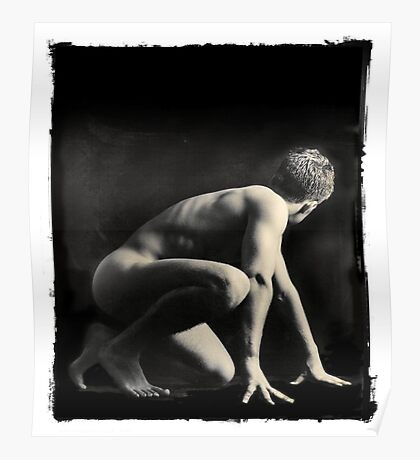 Greek Athlete Poster