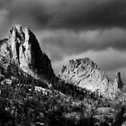 The Crags in Stormy Weather by Murph2010