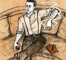 Dempsey Vintage Smoking by TheTrollMother