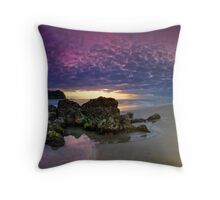 Dawn of a new age Throw Pillow