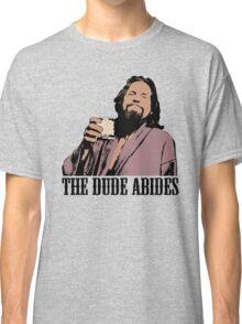 The Big Lebowski The Dude Abides Color T-Shirt Classic T-Shirt