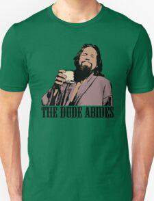 The Big Lebowski The Dude Abides Color T-Shirt Unisex T-Shirt