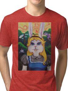 Rabbit Alice Tri-blend T-Shirt