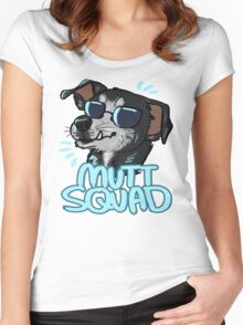 MUTT SQUAD Women's Fitted Scoop T-Shirt