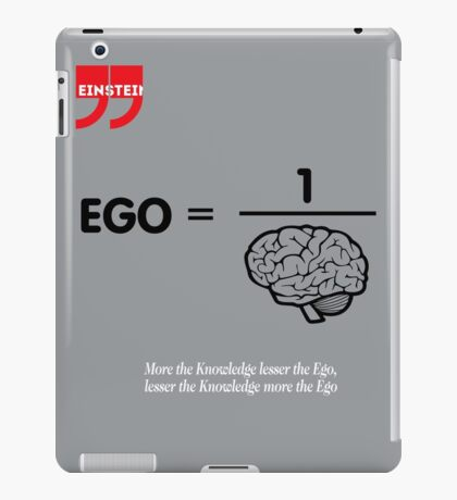 Albert Einstein Quote iPad Case/Skin