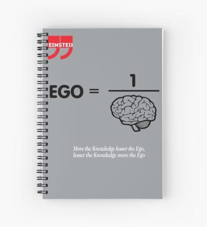 Albert Einstein Quote Spiral Notebook