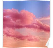 Fabulous clouds Poster