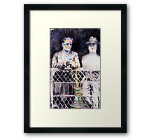 Rainbow Martini Framed Print