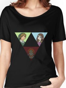 Wisdom. Courage, and Power Women's Relaxed Fit T-Shirt