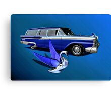 1959 Ford Ranch Wagon Canvas Print
