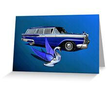 1959 Ford Ranch Wagon Greeting Card