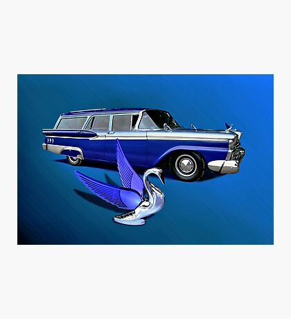 1959 Ford Ranch Wagon Photographic Print