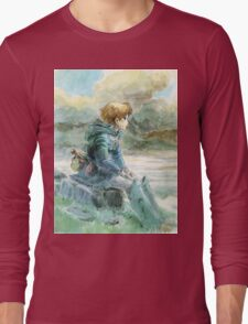 Nausicaa of the Valley of the Wind - Hayao Miyazaki - Pre Studio Ghibli (HD) Long Sleeve T-Shirt