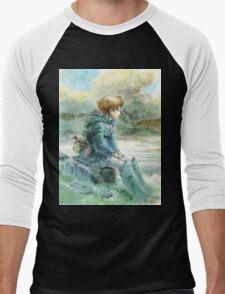 Nausicaa of the Valley of the Wind - Hayao Miyazaki - Pre Studio Ghibli (HD) Men's Baseball ¾ T-Shirt