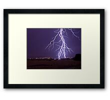 Too close for me Framed Print