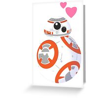 Cute BB8 Greeting Card