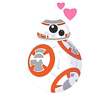 Cute BB8 Photographic Print