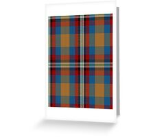 00442 Ball Tartan  Greeting Card