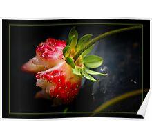 Take a bite... strawberry Poster