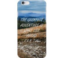 The greatest adventure iPhone Case/Skin
