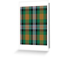 00443 Ball Hunting Tartan  Greeting Card