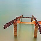 Rusted Rails - Cleveland Qld by Beth  Wode