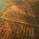 Miami skyline from the airplane - Aerial view by Atanas Bozhikov NASKO