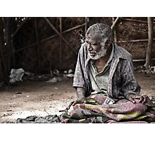 NO ONE KNOWS HOW LIFE LEADS, TILL THE END!! Photographic Print