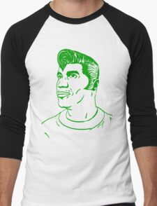 Kool Keith - Black Elvis (green) Men's Baseball ¾ T-Shirt
