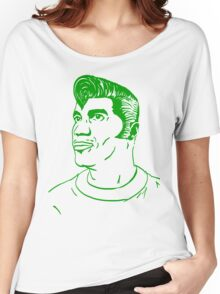 Kool Keith - Black Elvis (green) Women's Relaxed Fit T-Shirt