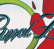 primal zen - sticker Sticker