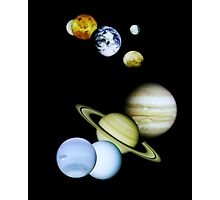 Space Montage Photographic Print