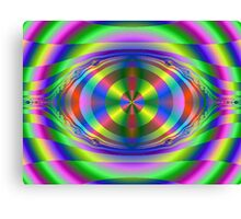 Tripping in Color Canvas Print