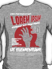 B Movie Poster Proposal T-Shirt