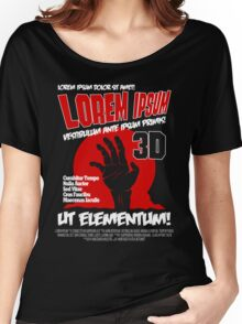 B Movie Poster Proposal Women's Relaxed Fit T-Shirt