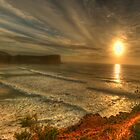 First Light - Avalon Headland, Sydney Australia- The HDR Experience by Philip Johnson