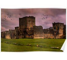 Portchester Castle Poster