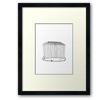 Teeth crops Framed Print