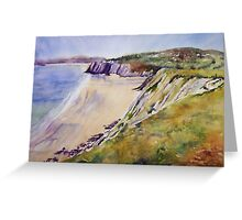 Gower View Greeting Card
