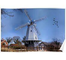 Shipley Windmill Poster