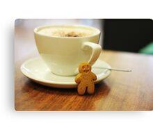 Gingerbread Boy Canvas Print