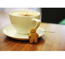 Gingerbread Boy Photographic Print