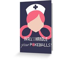 Nurse Joy - Pokemon Greeting Card