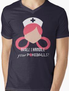 Nurse Joy - Pokemon Mens V-Neck T-Shirt