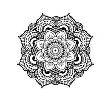 Detailed Mandala Flower by mermaidnatalie