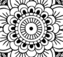 Detailed Mandala Flower Sticker