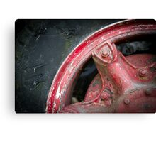 Truck Tyre Canvas Print
