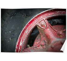 Truck Tyre Poster