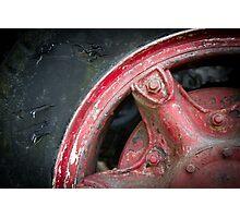 Truck Tyre Photographic Print